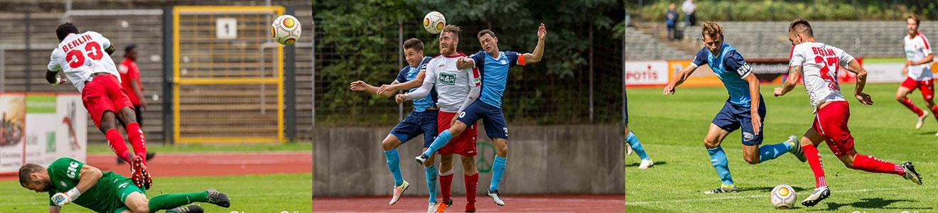 Regionalliga Nordost – Berliner AK 07 vs FC Viktoria 1889 Berlin (Fussball)
