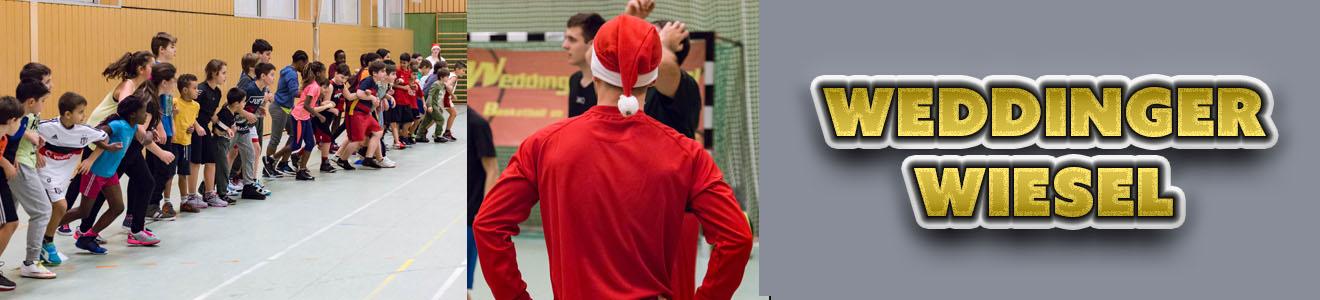 Weihnachtsfeiern 2015 der Weddinger Wiesel (Basketball)