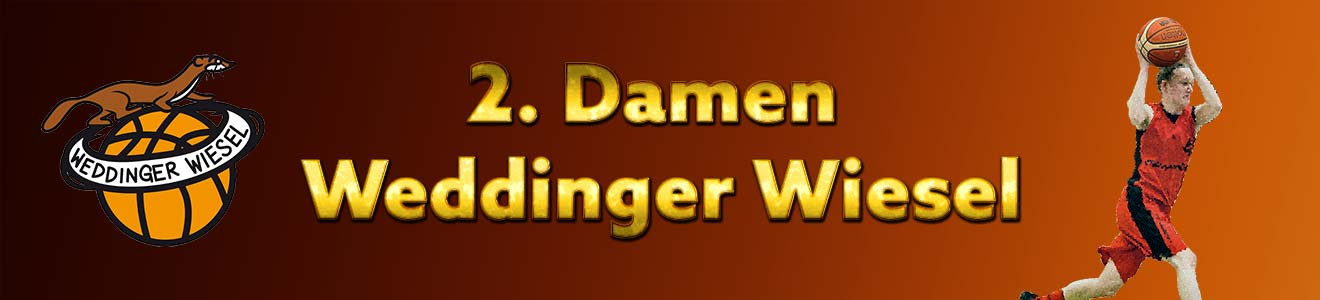 Damen Oberliga – Weddinger Wiesel 2 vs TSC Spandau 1