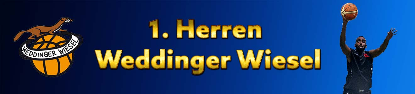 He OL – 1. Herren Weddinger Wiesel vs DBV Charlottenburg 2 (Basketball)