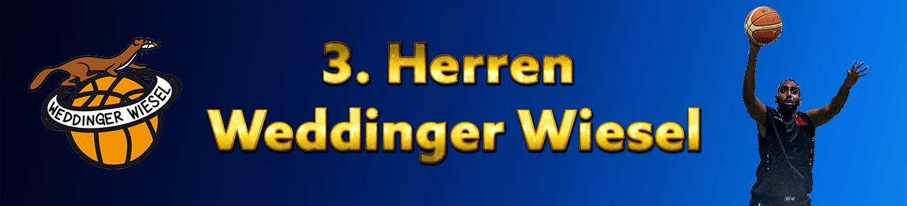 He KLA – 3. Herren Weddinger Wiesel vs Berliner SV 92 1 (Basketball)