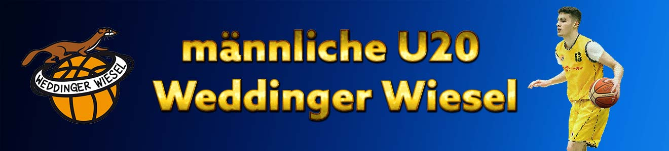 LL mU20 – Weddinger Wiesel vs TSC Spandau 1 (Basketball)