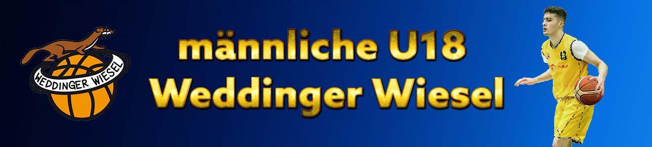 mu18 LLA – Weddinger Wiesel 1 vs Basket Dragons Marzahn 1 (Basketball)