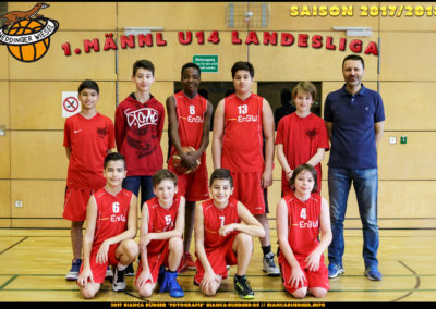 1. mU14 Weddinger Wiesel - Saison 2017-2018