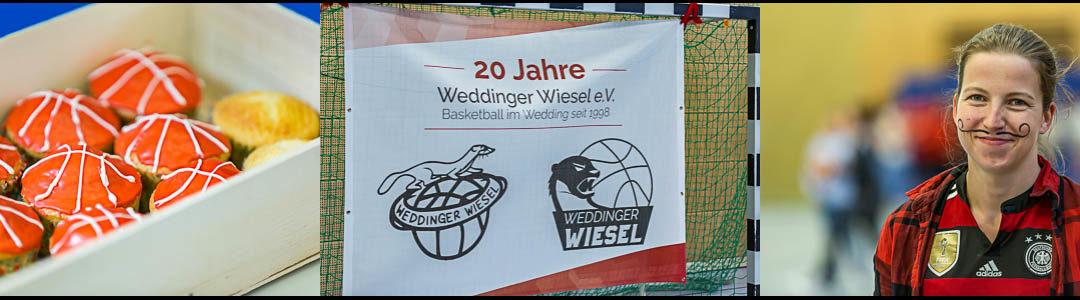 20. Geburtstag der Weddinger Wiesel