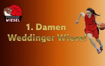 Da 1. Regio Nord – Weddinger Wiesel 1 vs SC Rist Wedel 1 (Basketball)