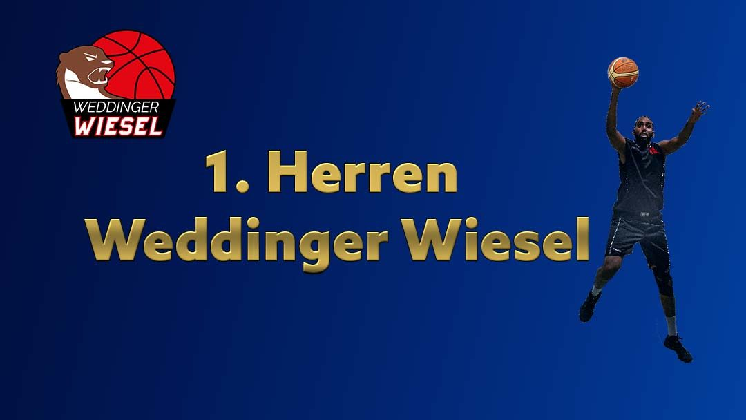 He Oberliga – Weddinger Wiesel 1 vs VfB Hermsdorf 1 (Basketball)