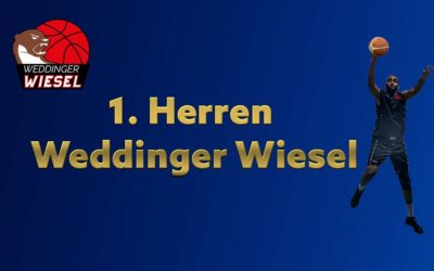 He Oberliga – Weddinger Wiesel 1 vs TuS Neukölln 1 (Basketball)