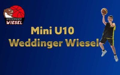 Mini U10 A2 – Weddinger Wiesel vs ALBA Kollwitz 11 (Basketball)