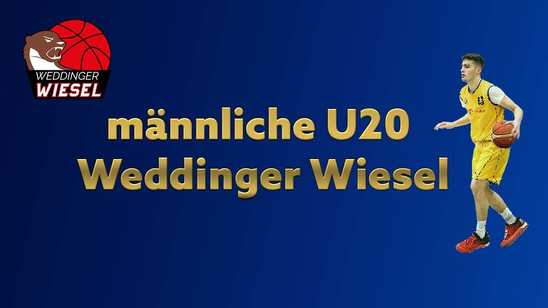 mu20 Oberliga – ALBA Berlin 2 vs Weddinger Wiesel 1 (Basketball)