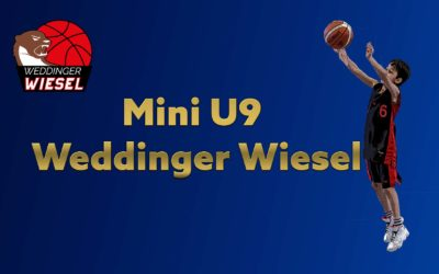 Mini U9 A – Weddinger Wiesel 1 vs VfL Lichtenrade 1 (Basketball)