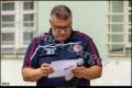 Presse- und Stadionsprecher Yalcin Karaoglan (Berliner AK 07)