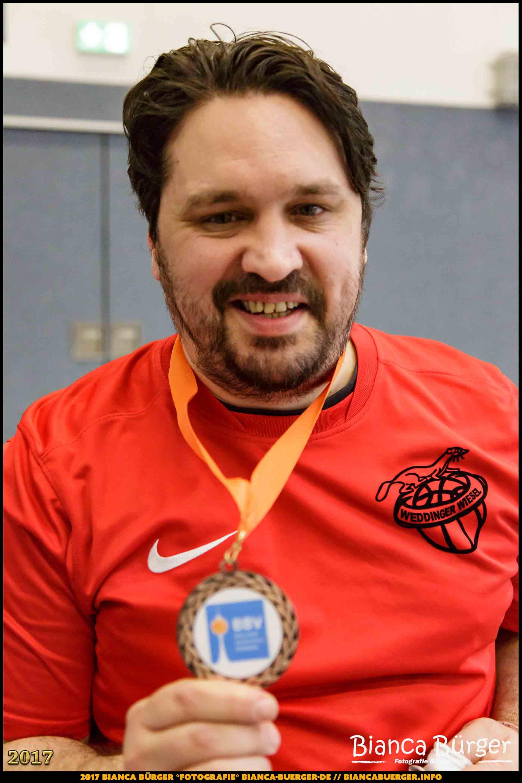 Coach Sandro - Weddinger Wiesel - 3. Platz wU13 Endturnier 2017